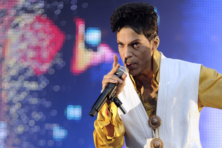 Prince, the pop music superstar behind hits like