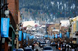 General view of the atmosphere on Main Street during the 2011 Sundance Film Festival on January 23, 2011 in Park City, Utah.