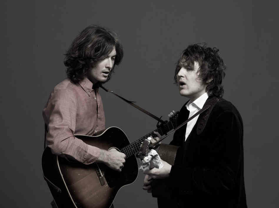 The Milk Carton Kids, Joey Ryan (left) and Kenneth Pattengale (right)