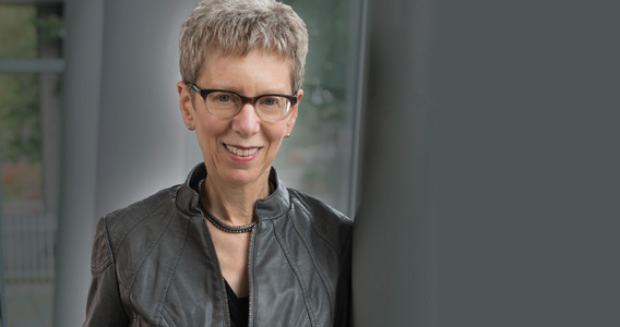 "Terry Gross, host of NPR's ""Fresh Air."""