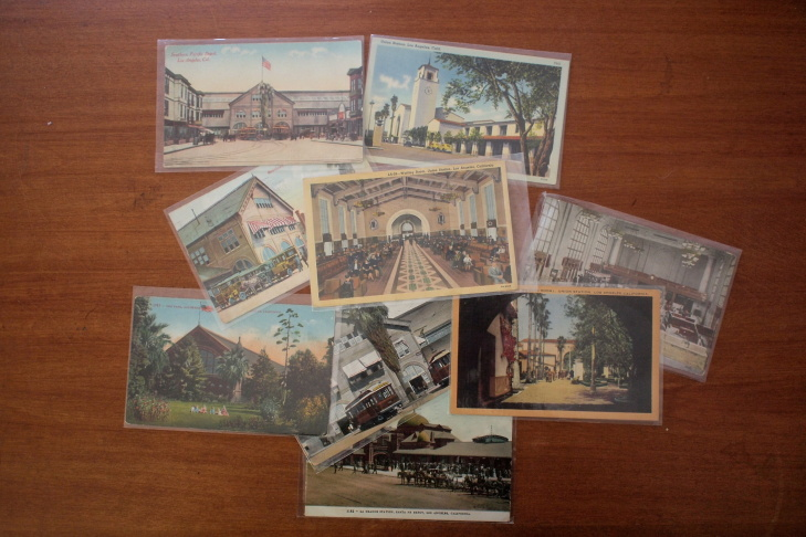 Union Station train station postcards