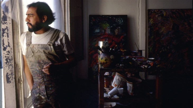 The late L.A. artist Carlos Almaráz is the subject of an exhibition at the Los Angeles County Museum of Art.