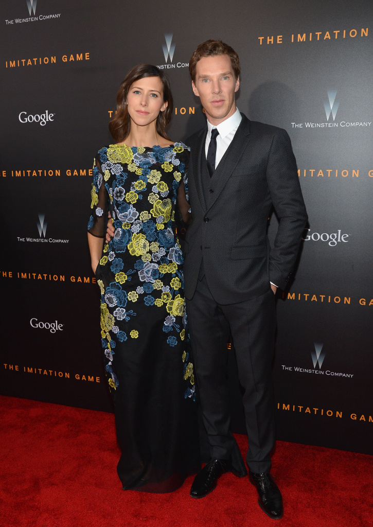 Director Sophie Hunter and actor Benedict Cumberbatch attend the 'The Imitation Game' New York Premiere at Ziegfeld Theater, hosted by Weinstein Company on on November 17, 2014 in New York City.