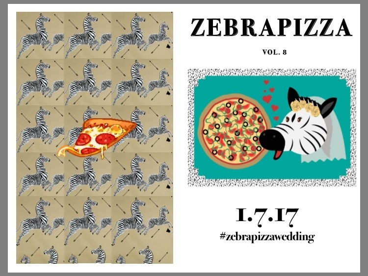 Vol. 8 of ZebraPizza.