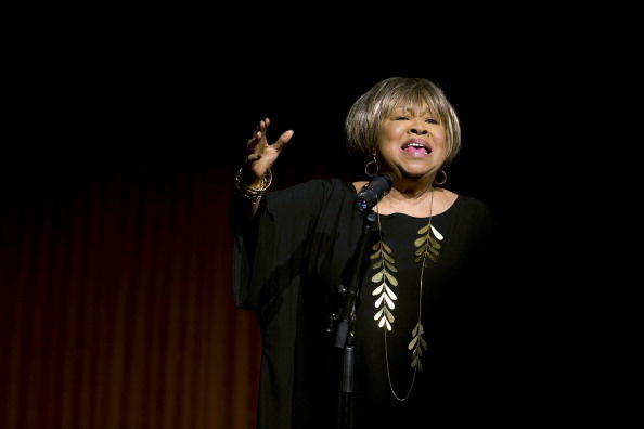 Mavis Staples sings at the Civil Rights Summit at the LBJ Presidential Library in April, 2014 in Austin.