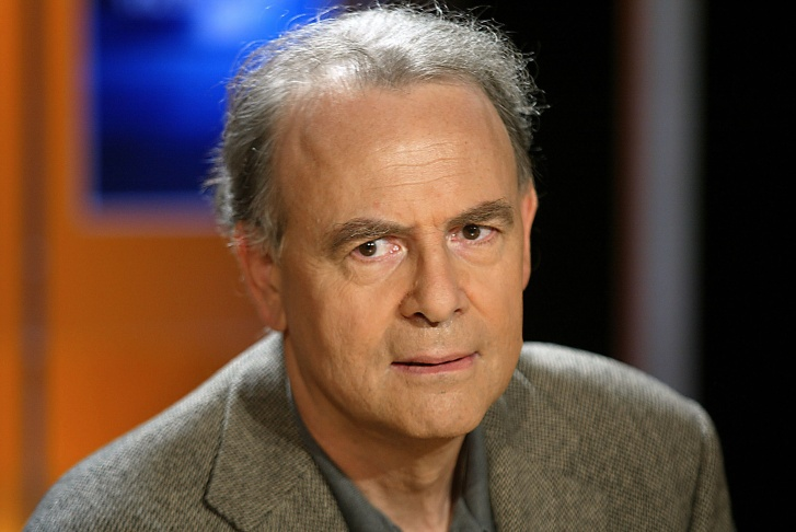 A photo taken on October 7, 2003 in Paris shows French writer Patrick Modiano, who won the 2014 Nobel Prize in Literature, the Royal Swedish Academy announced on October 9, 2014 in Stockholm, Sweden.