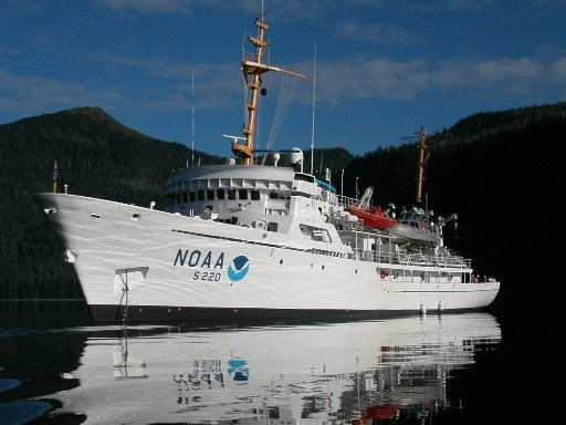 NOAA's ship Fairweather will embark on a month long cruise along the west coast to study ocean acidification.