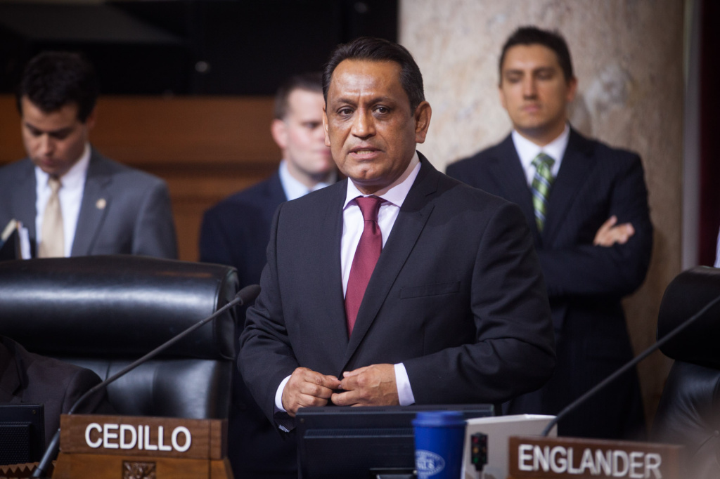Los Angeles City Councilman Gil Cedillo is seeking reelection in District 1.