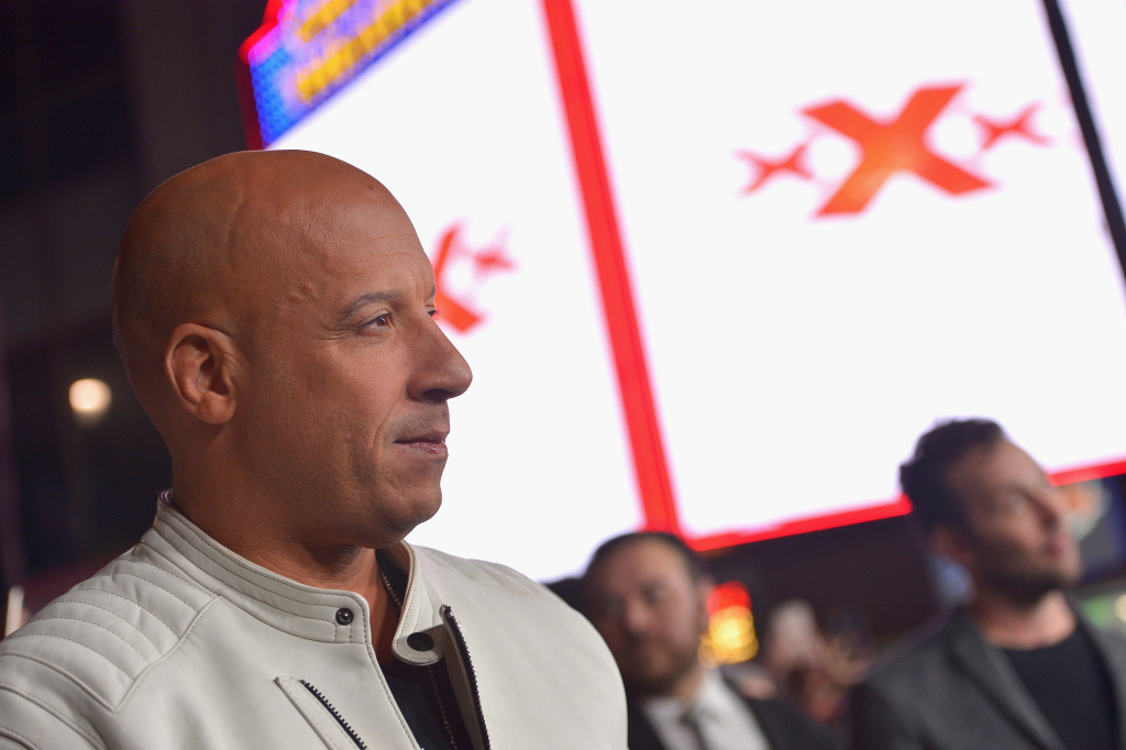 Actor/producer Vin Diesel attends the LA Premiere of the Paramount Pictures title 'xXx: Return of Xander Cage' at TCL Chinese Theatre IMAX on January 19, 2017 in Hollywood, California.