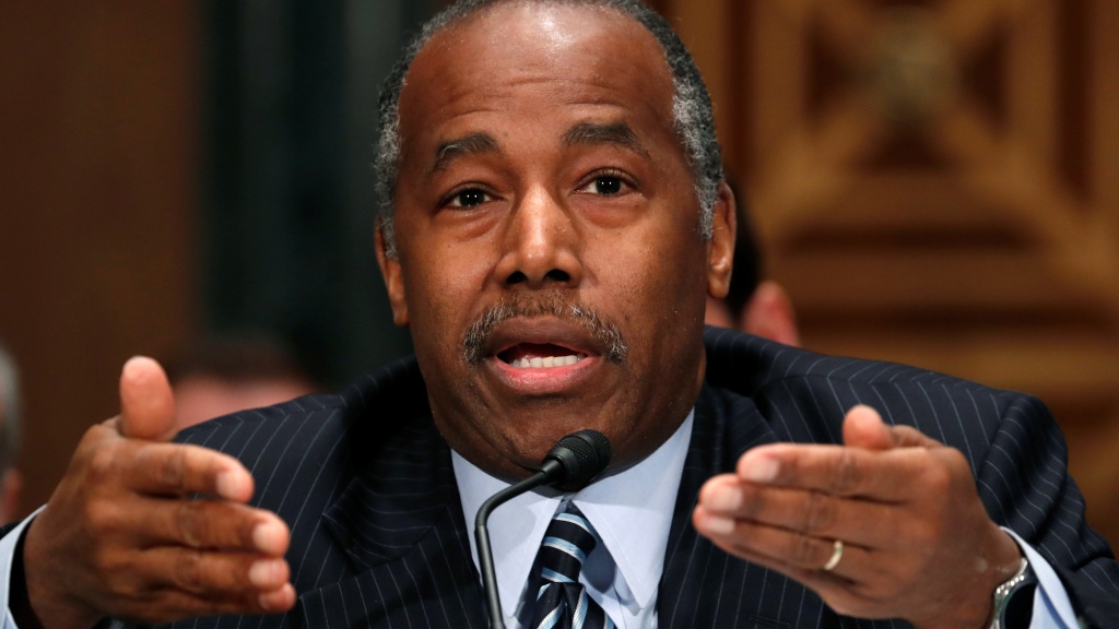 Secretary of the Department of Housing and Urban Development Ben Carson faces a lawsuit over his agency's sidelining of a rule that's meant to prevent segregation in areas that receive federal housing funds.