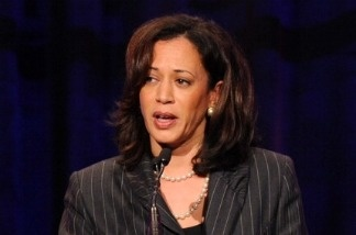 California Attorney General Kamala Harris speaks onstage at the Public Counsel's William O. Douglas Award Dinner on March 18, 2011 in Beverly Hills, California.