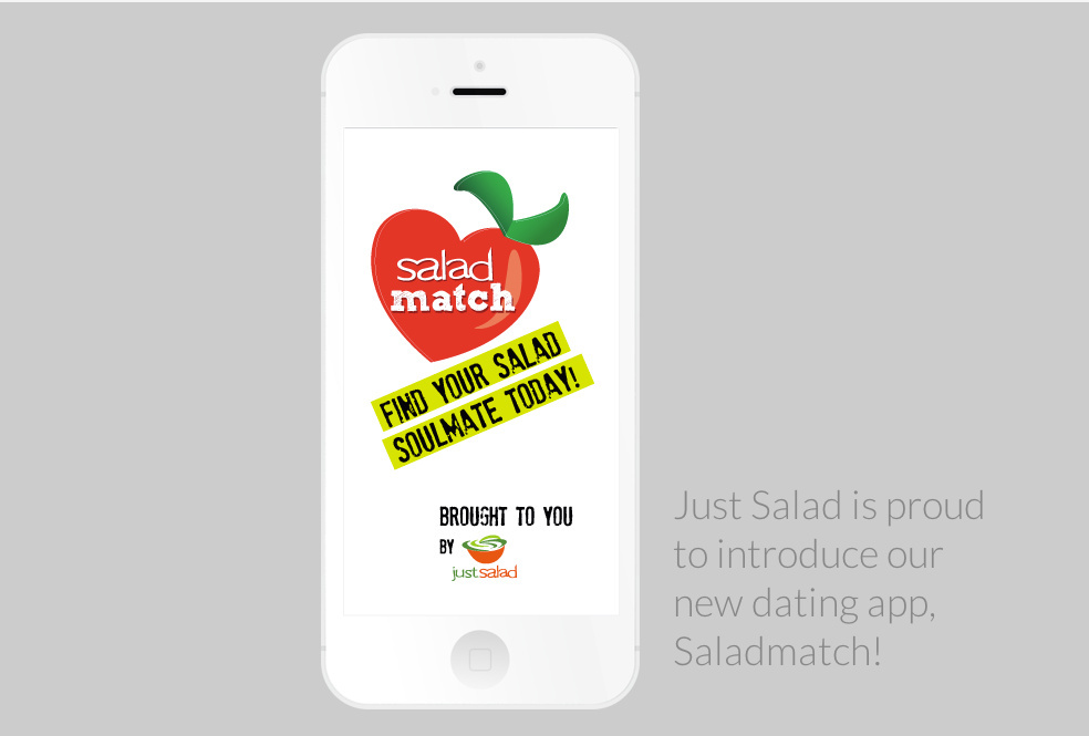 The Salad Match app.