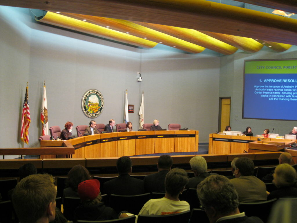 Members of the Anaheim City Council are elected at-large. But voters will be asked whether to change that in November.