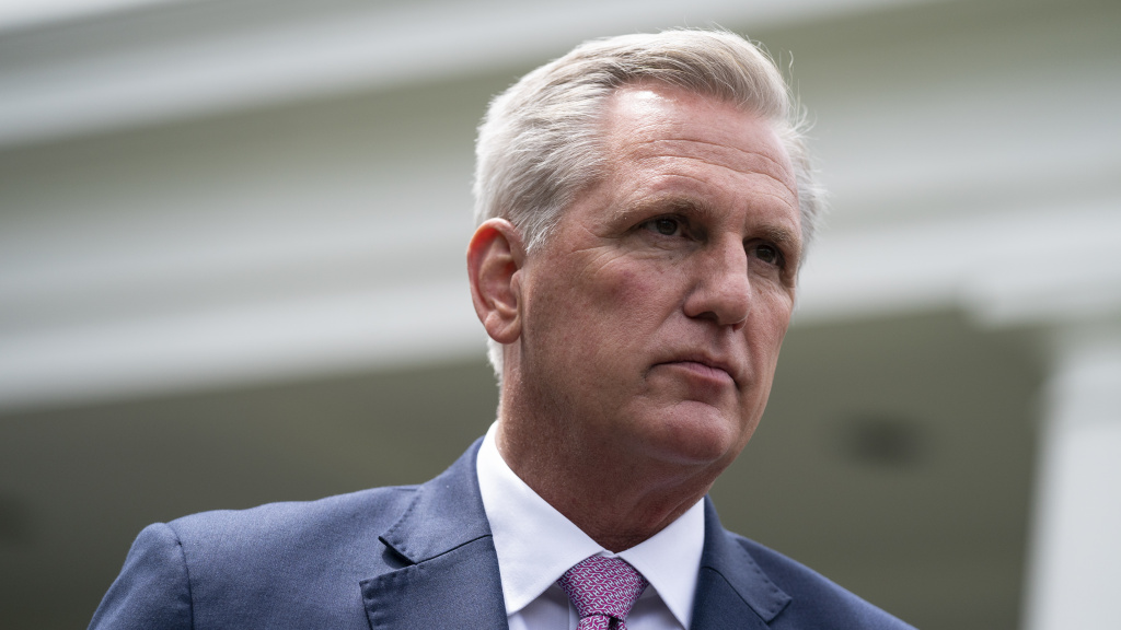 House Minority Leader Kevin McCarthy, R-Calif., opposes a deal setting up a 9/11-style commission to investigate the Jan. 6 attacks on the U.S. Capitol.