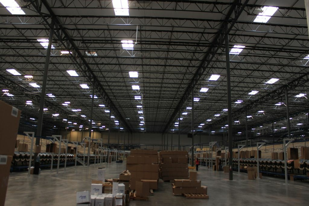 File: Interior of one of the 1.8 million square foot Skechers distribution center in Moreno Valley.
