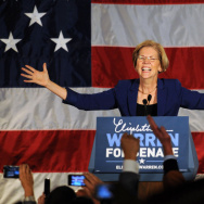 Democratic Senate Candidate Elizabeth Warren Holds Election Night Party In Boston