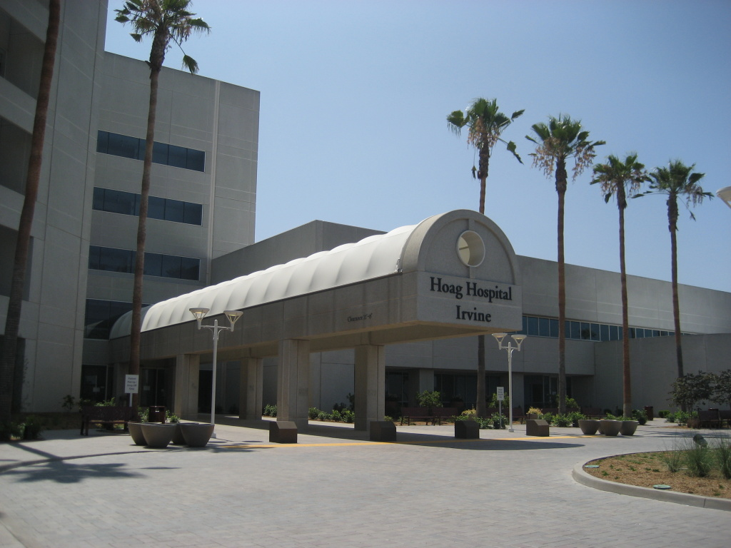 Hoag Hospital Irvine takes over the same building that housed Irvine Regional Medical Center, which closed in early 2009.  The new hospital opens next month.