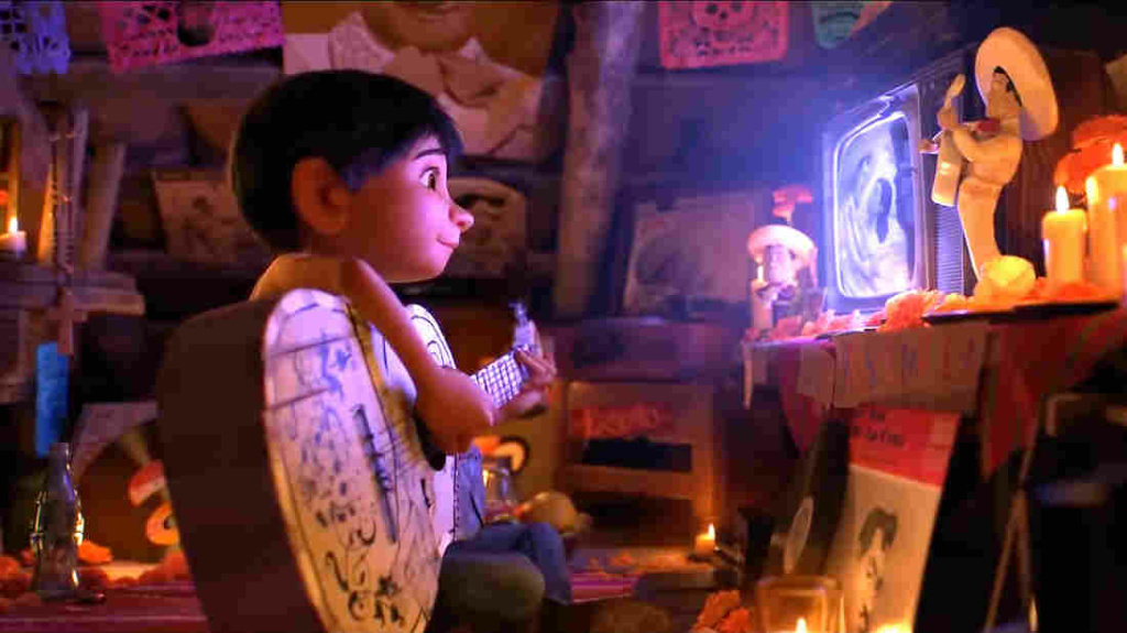 A scene from the Disney-Pixar animated movie
