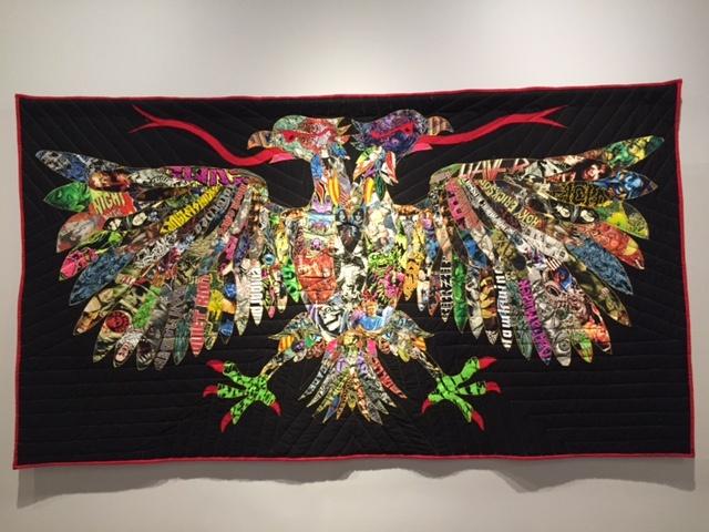Ben Venom's work from the exhibit,