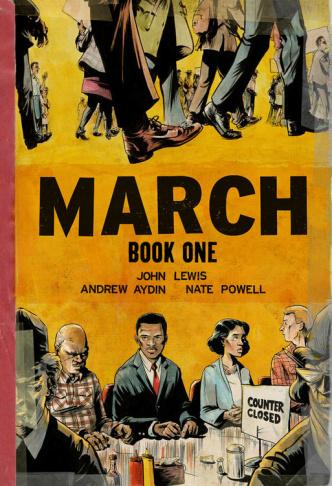 Congressman John Lewis's graphic novel,