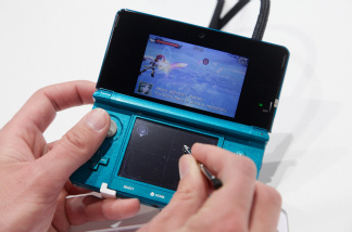 Nintendo's 3DS handheld gaming device with a 3D display. Nintendo recently posted losses for the first time in 30 years.