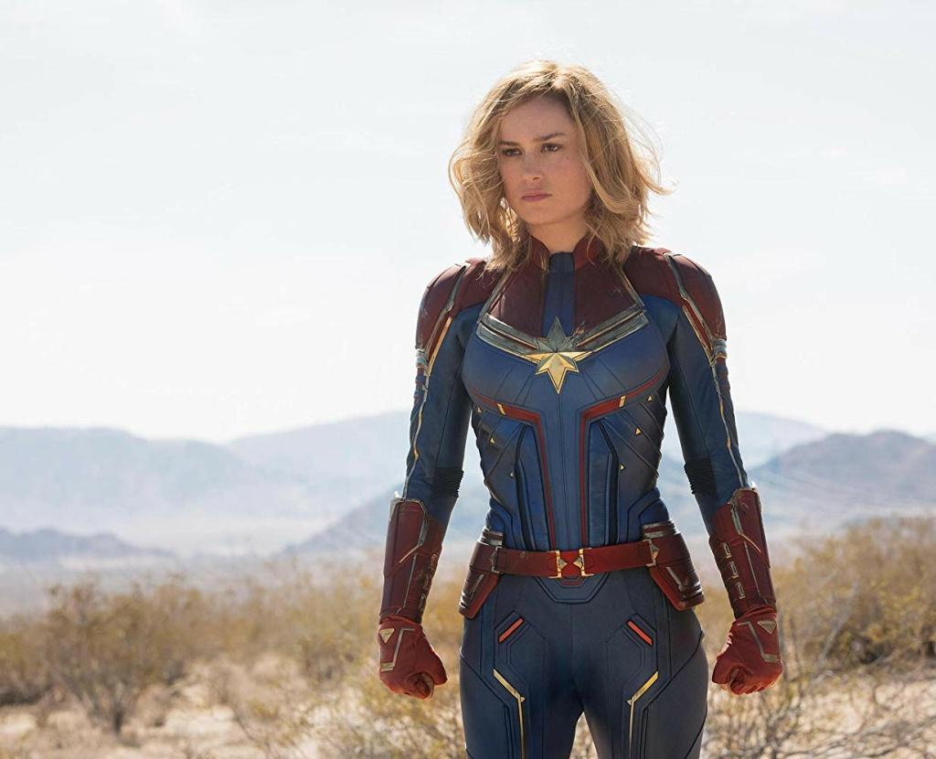 Brie Larson stars as Captain Marvel in Marvel Studios'