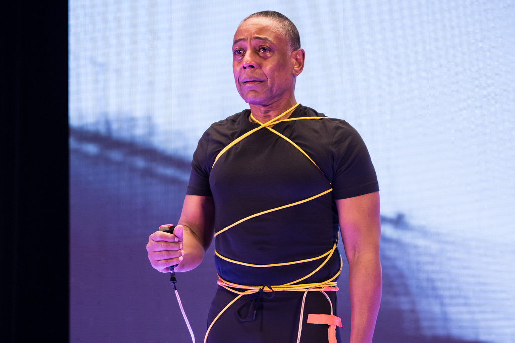"Actor, director and producer Giancarlo Esposito on ""The Show."""