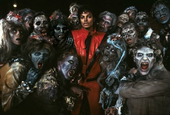 A still from Michael Jackson's