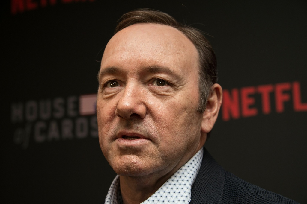 Actor Kevin Spacey arrives at the season 4 premiere screening of the Netflix show