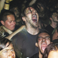 Fans at this GWAR show from the Roseland Ballroom seem to have no problem with the volume.