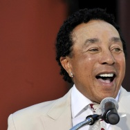 US music legend Smokey Robinson speaks a