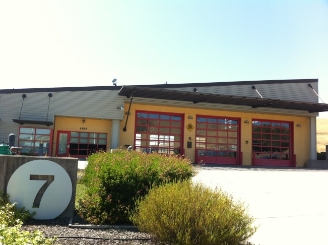 Reopened fire station