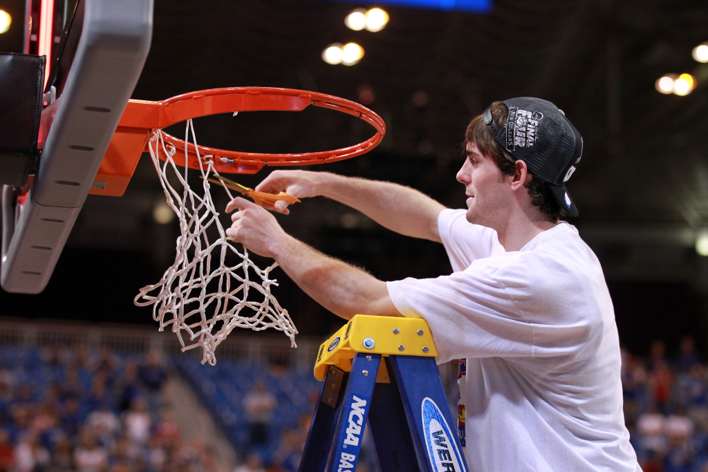 Who will cut down the nets in the NCAA Final Four this year?