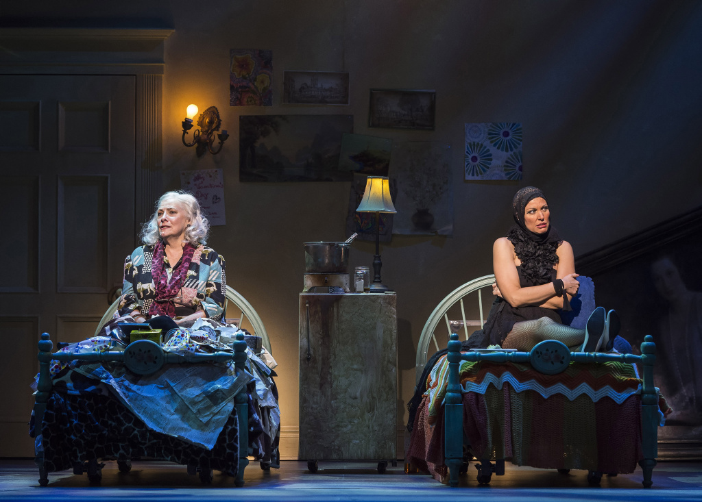 L-R: Betty Buckley and Rachel York in