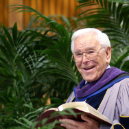 The Rev. Dr. Robert H. Schuller, founding pastor of the Crystal Cathedral with a four-decade career of ministry through his weekly Hour of Power television broadcasts died Thursday morning.