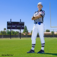 New NFL referee Shannon Eastin