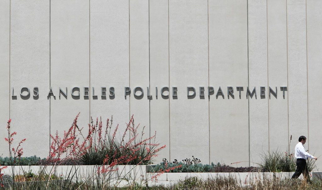 The LAPD now has more 10,000 police officers because of a decision to transfer 60 General Services officers in administrative duties.