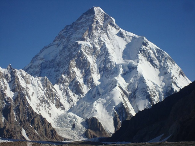 The mountain K2.