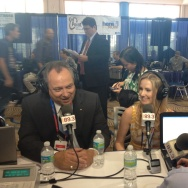Bill Jones and Briana Bilbray Republican National Convention