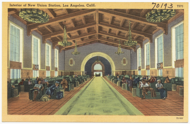 UNION STATION POST CARD POSTCARD