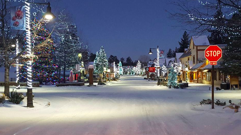 photo of big bear village posted on twitter on dec 24 2016