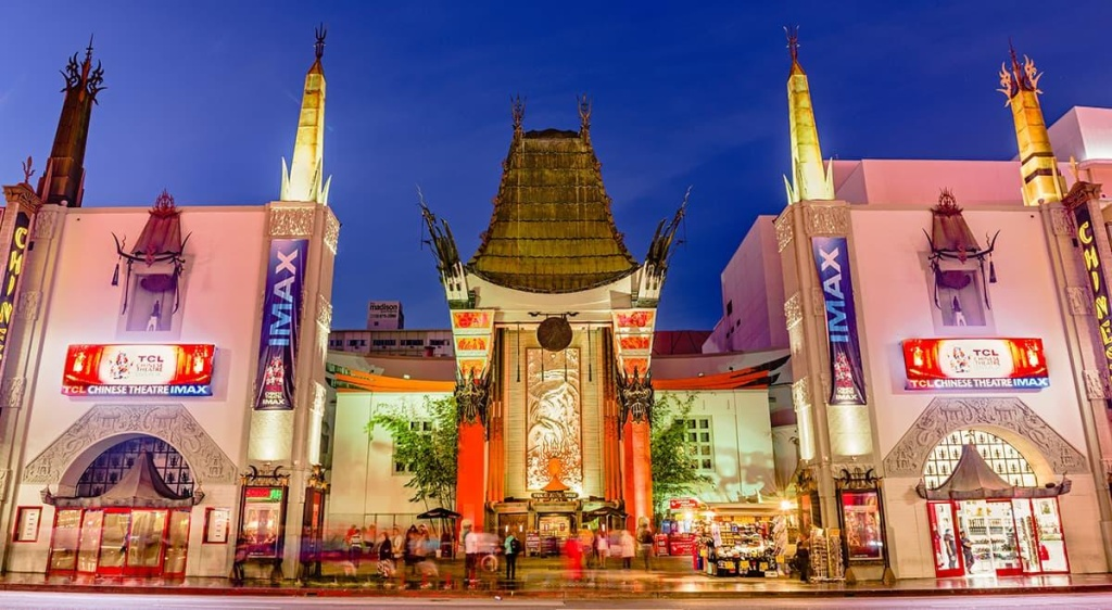 TCL Chinese Theater in Hollywood, CA.