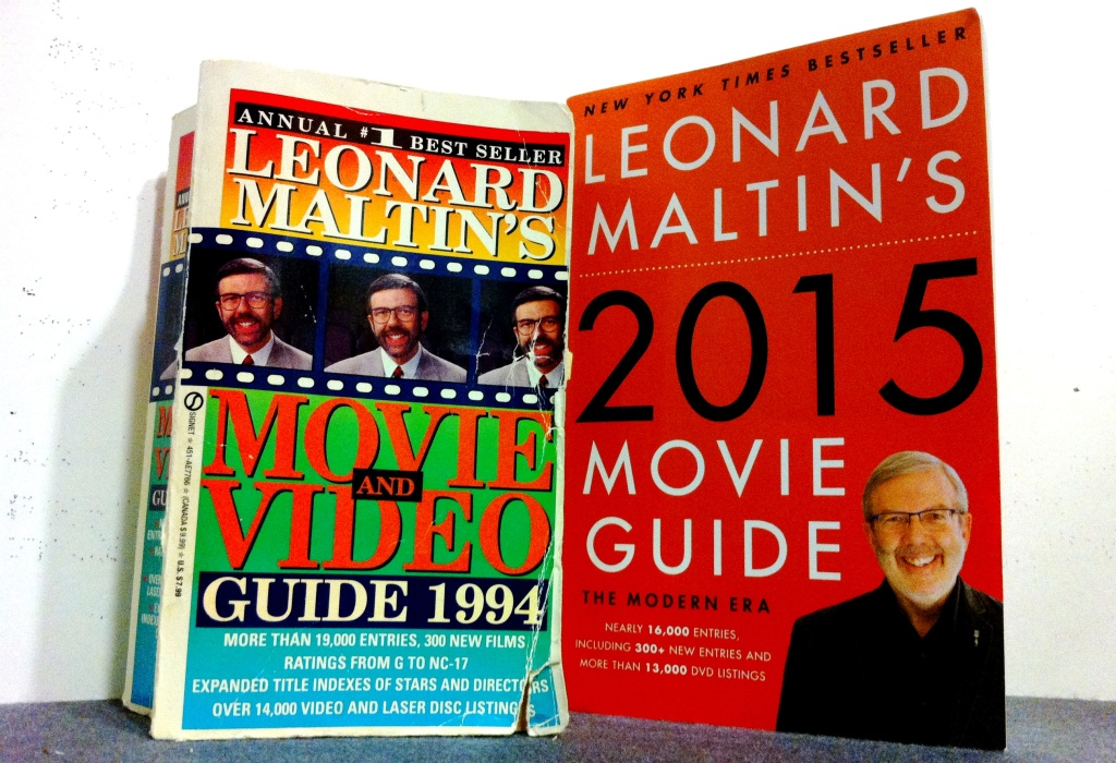 From John Rabe's library, 21 years of Leonard Maltin's movie guide.
