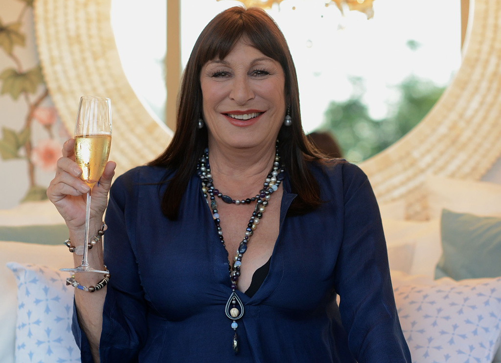 Anjelica Huston at Airbnb's Hello LA Event at Cook's Garden by HGEL on September 27, 2013 in Hollywood, California.