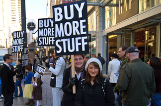 What are you waiting for? Go buy stuff!