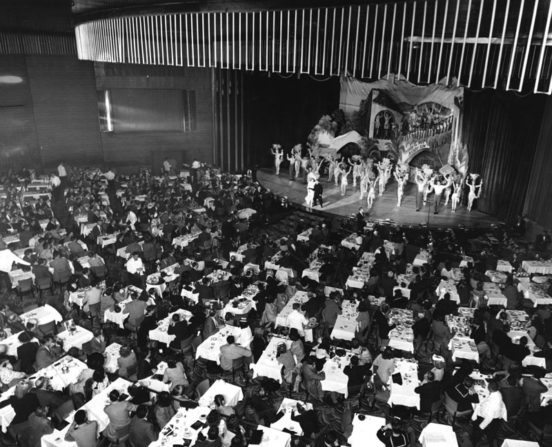 A show at the Earl Carroll Theatre in 1949.