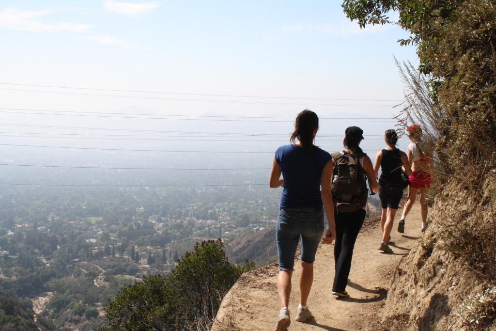 File photo: Echo Mountain hike