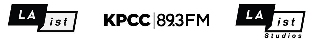 LAist KPCC LAist Studios logo