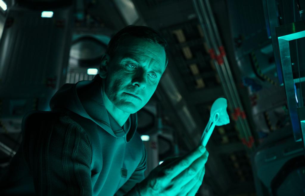 Michael Fassbender (Walter) stars in