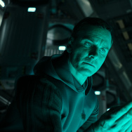 "Michael Fassbender (Walter) stars in ""Alien: Covenant."""